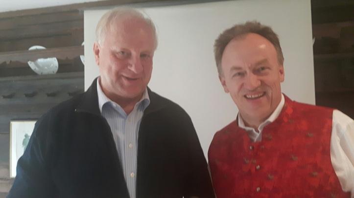 Sepp und Gerhard